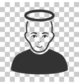 Holy Man Icon vector image vector image