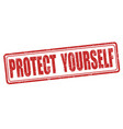 protect yourself stamp
