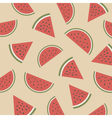 290watermelon pattern2 vector image vector image