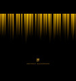 abstract yellow stripe vertical lines light on vector image vector image