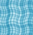 Blue waves background tablecloth vector image vector image