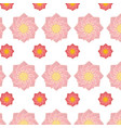 lotus flower background vector image vector image
