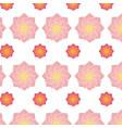 lotus flower background vector image