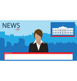 News background vector image