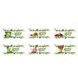 spring saler large collection discount banners vector image