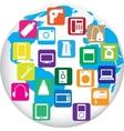 Twenty gadgets vector image