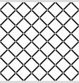 white diamond square on black background seamless vector image