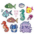 animals - marine life vector image vector image