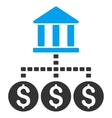 Bank Structure Icon vector image