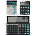 calculators vector image