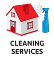 cleaning services2 vector image