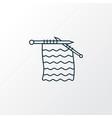 knitting icon line symbol premium quality vector image