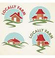 locally farm vector image