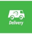 logo trucking vector image vector image