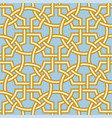 mettlach encaustic tiles pattern in celtic style vector image