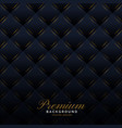 premium dark upholstery invitation pattern vector image