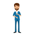surgeon doctor professional avatar character vector image vector image