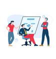 teamwork concept flat vector image