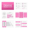 template for multipurpose presentation vector image vector image