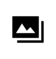 Image Icon Flat vector image
