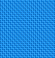 Blue cloth texture vector image