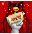 Broadway poster vector image vector image