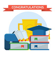 Graduation Awards Concept vector image vector image