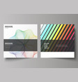 minimal of editable layout of vector image vector image