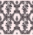 seamless pattern with vine branches vector image vector image