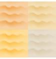 Set of sand patterns vector image