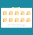 set of woman expression isolated vector image vector image