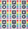 Apple Gallery Packing Router Recycling Hand vector image