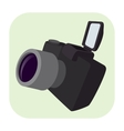 Camera cartoon icon vector image