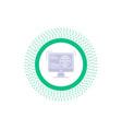 information content development website web glyph vector image