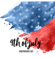 july 4 independence day in usa background can be vector image vector image