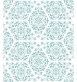 Ornate geometric wallpaper vector image vector image