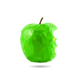 polygon apple vector image vector image