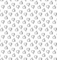 Thumb up thumb down seamless pattern vector image vector image