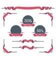 New Year Page Decorations vector image