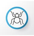 arachnid icon symbol premium quality isolated vector image