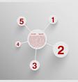 design template design concept vector image vector image