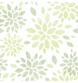 Fabric textured abstract leaves seamless pattern vector image