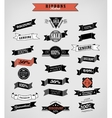 Guarantee and sale Labels ribbons vector image