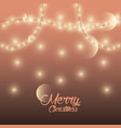 marry christmas cards vector image vector image