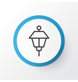 park lamp icon symbol premium quality isolated vector image
