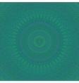 psychedelic mandala star fractal ornament vector image vector image