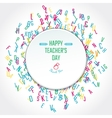 Teachers Day Holidays vector image