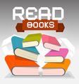Read Books vector image