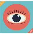 Eye icon - vector image vector image