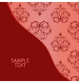 fabric background vector image vector image